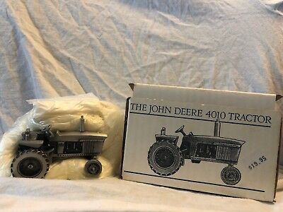 Pewter Historic Collection John Deere 4010 Tractor