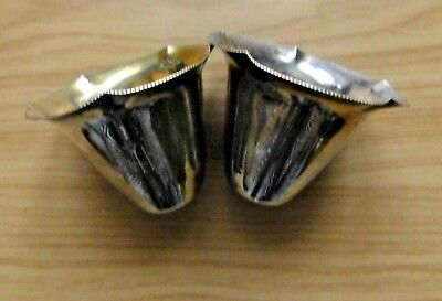 Lovely Antique 800 Silver Hallmarked Cups 1 Engraved (Initials Hh?) Total 50.7g