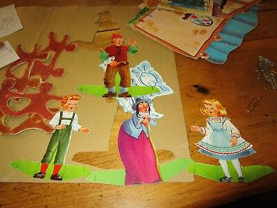 Hansel And Gretel Punch Out Play Book Whitman