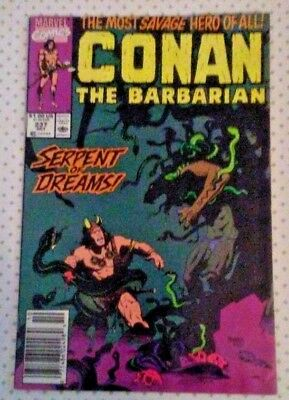 Conan The Barbarian #237 Marvel Newsstand Edition - Oct. 1990  VF