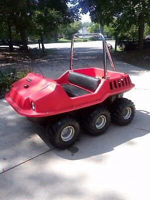 Amphibious atv, 1998, max 2,/argo, new duramax 18hp, new winch in box,, nice!