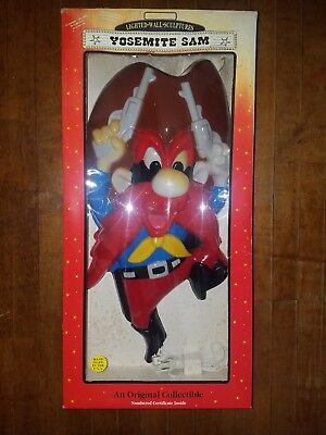 Vintage Yosemite Sam Collectible Wall Light Looney Tunes lamp Warner Brothers