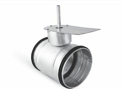 Belimo -lüftungsklappe, Butterfly Valve, NW 125, Tight for Extractor Fan
