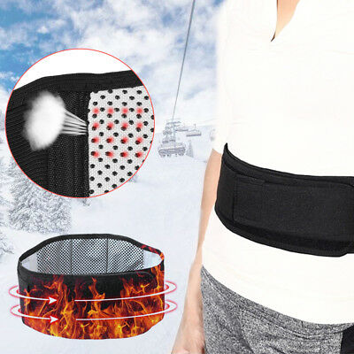 Magnetic Therapy  Waist Tourmaline Self heating Back Waist Support Belt