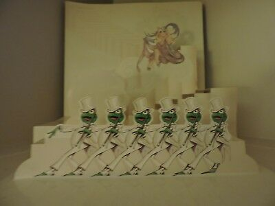 """Vintage Early 80s Miss Piggy and Kermit the Frog """"Opening Night"""" Pop up, Rare"""