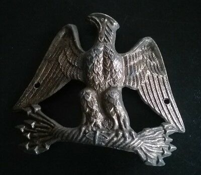 Vintage Brass Eagle Wall Hanging Plaque