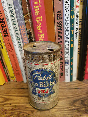 Pabst Blue Ribbon BOCK 12oz Flat Top Beer Can