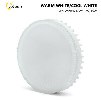Gx53 85-265V Led Lamp Decorative Cabinet Bulb 5/7/9/12/15/18W Frosted Downlight