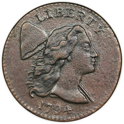 1794 Liberty Cap Large Cent, Head of 1794, S-22, NGC XF details