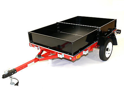 Foldable Box Trailer  - Lightweight Folding Easy Trailer