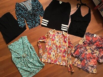 Mixed LOT of 25 Women's, Men's and Children Clothing Items