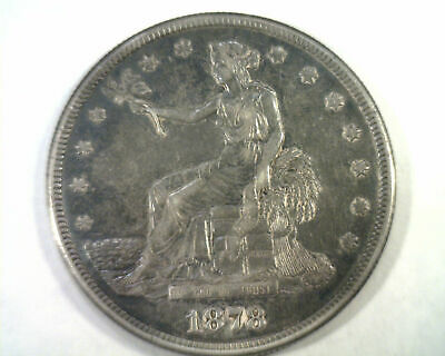 1878-S Trade Dollar Extra Fine Xf Extremely Fine Ef Nice Original Coin Bobs Coin