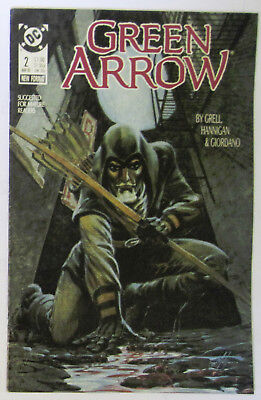 DC Comic Green Arrow #2 March 1988 - Copper Age - VF