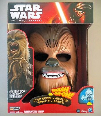 Chewbacca Electronic Mask Star Wars The Force Awakens