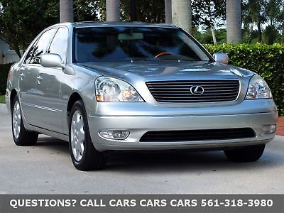 Lexus LS 430 LS430-ONLY 72K MILES-FLORIDA CLEAN-LIKE 04 05 06 FLORIDA IMMACULATE-NEEDS NOTHING-ABSOLUTELY THE FINEST AROUND-THIS IS THE ONE