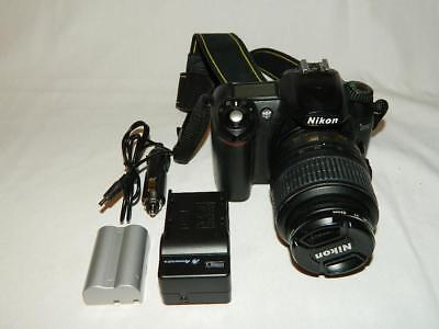 NIKON D50 6.1MP DIGITAL SLR CAMERA WITH AF-S DX 18-55mm LENS - BATTERY & CHARGER