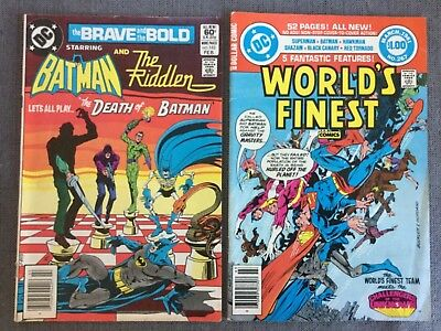 DC Comics The Brave and the Bold starring Batman and the Riddler #183