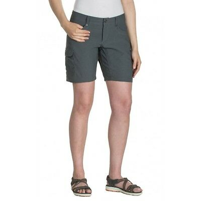 Kuhl Women's Hykr Shorts-Charcoal-Size 12-New With Tags Rrp $Aus99.95