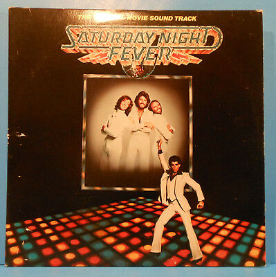 Saturday Night Fever Soundtrack 2X Lp 1977 Original Great Condition! Vg+/vg+!!a