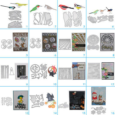 Birds Frame Cutting Dies Metal Stencil DIY Scrapbooking Album Paper Card Art