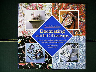 Decorating With Giftwraps~Home Accessories~Stationery~Gifts~Papercraft~96pp P/B