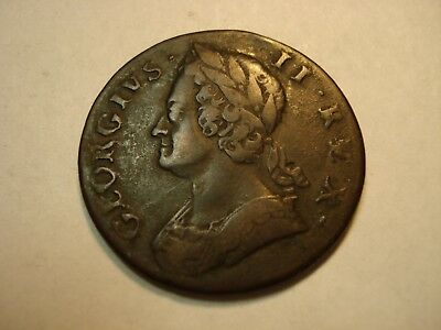 Great  Britain  1/2   Penny   1746