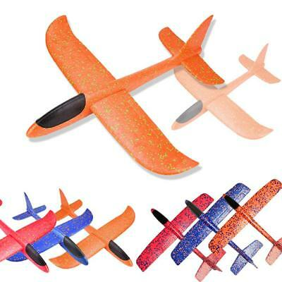 Foam Hand Throw Airplane Aircraft Launch Glider Plane Model Kids Toys Xmas BEST