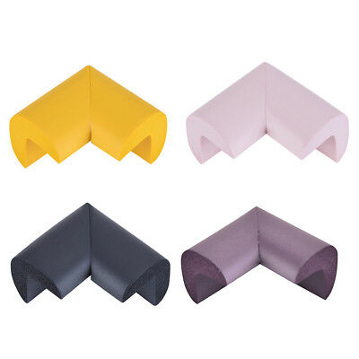 4x Soft Baby Safety Corner Edge Cushion Desk Table Cover Protector Pads Child UK