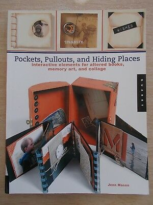 Pockets, Pullouts, and Hiding Places~Altered Books~Memory Art~Collage~Projects..