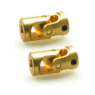 2PCS 3*3mm Universal Joints Shaft Coupling For RC Model Boat Connector car