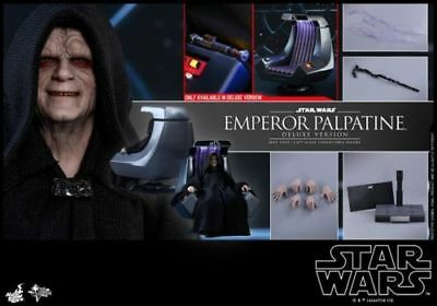 Hot Toys 1/6 MMS468 Star Wars Emperor Palpatine Figure Deluxe Ver.Collection Toy
