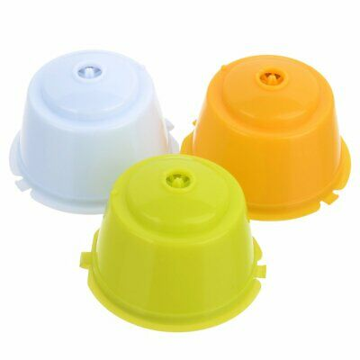 Dolce Gusto Refillable Capsule, Coffee Filter Baskets (3 PCS)