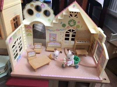 Sylvanian Families, Forest Nursery, Used, Excellent condition, Set #5100