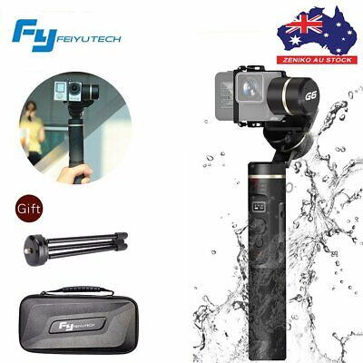 AU Feiyu G6 Gimbal 3 Axis Splash Proof Stabilizer For GoPro Hero 6 5 4 Sony RX0