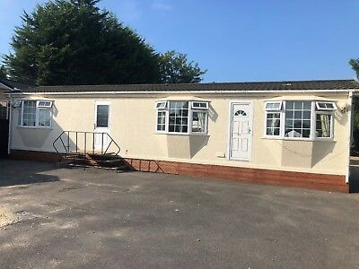 O'Neill Roughcast 2 Bed Static Caravan Chalet Park Home 45'x12' F/F