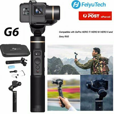 AU Feiyu G6 Plus Gimbal 3-Axis Splash Proof Handheld Stabilizer WIFI Bluetooth