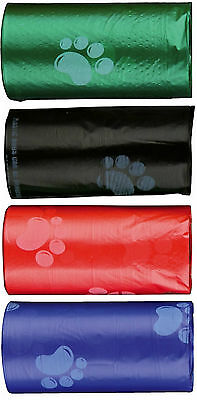 Dog Dirt Bags 4 Rolls of Doggy Pick Up Small Bags 20 Bags on Each Roll