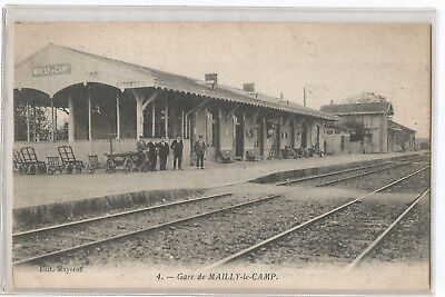 10 Camp De Mailly , La Gare