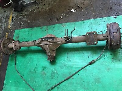 FORD TRANSIT TIPPER Flatbed Luton Twin Wheel Back Rear Axle Ratio