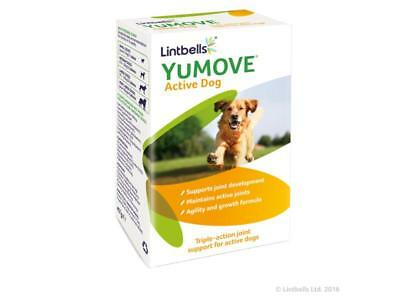 Lintbells Yumove Young & Active Dog 60 Tablets - Joint Supplements BBE 12/18
