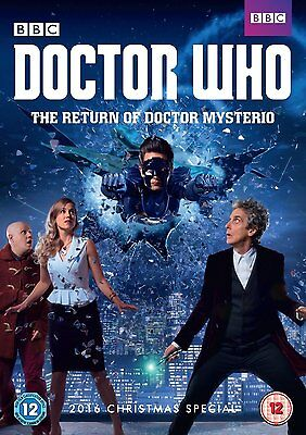 Doctor Who - The Return of Doctor Mysterio [New & Sealed DVD] 2016 Xmas Special