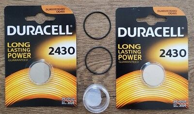 2x Duracell Battery replacement kit for suunto C1 Stinger Spyder + free grease