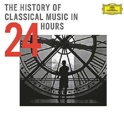 The History of Classical Music in 24 Hours CD Boxset NEW