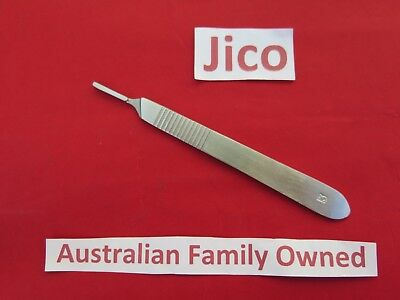 Jico 2 × #3 SCALPEL HANDLE SURGICAL STEEL SUITE BLADES #10 11 12 13 14 15 16