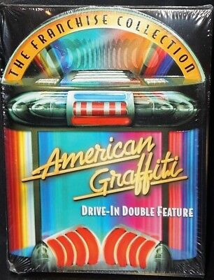 American Graffiti Drive-In Double Feature The Franchise Collection DVD. NEW!