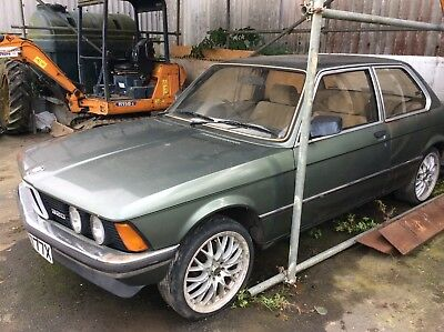 Bmw 320 E21 69,000 Miles 1 Owner Barn Find