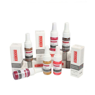 Goochie Permanent Makeup Micro Pigment Cosmetic 15ml - Eyebrow & Lip Tatoo