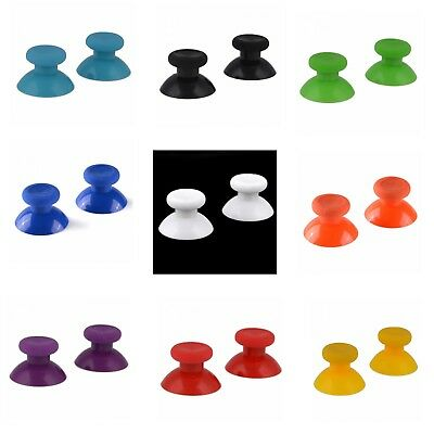2x Analogue Replacement Colour Thumb stick Grips Xbox One Thumbsticks Controller