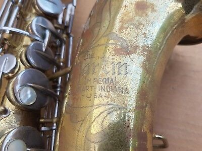 60's THE MARTIN IMPERIAL ALT / ALTO SAX / SAXOPHONE - made in USA