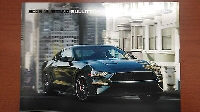 2019 Ford Mustang bullitt brochure new never opened .